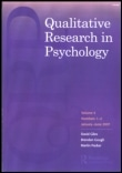 qualitative research in psychology journal cover