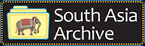 South Asia Archive logo