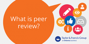 What is peer review? banner