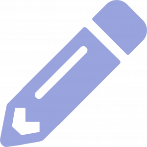 Pencil icon - recommendations for change in practice