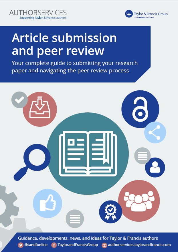 Cover of Article submission and peer review eBook